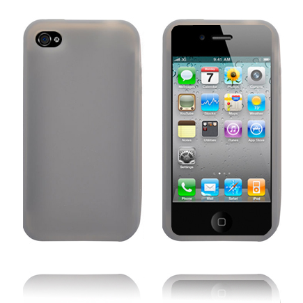 Soft Shell (Grå) iPhone 4S Cover