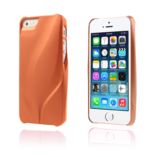 V-star (Brun) iPhone 5/5S Kreditkort Cover