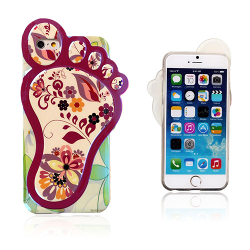 Image of   3D Fod (Smukke Blomster) iPhone 6 Cover