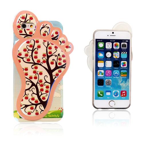 Image of   3D Fod (Frugttræ) iPhone 6 Cover