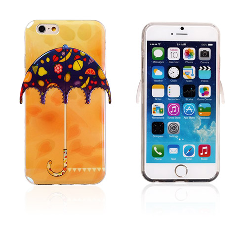 Image of   3D Paraply (Mange Frugter) iPhone 6 Cover