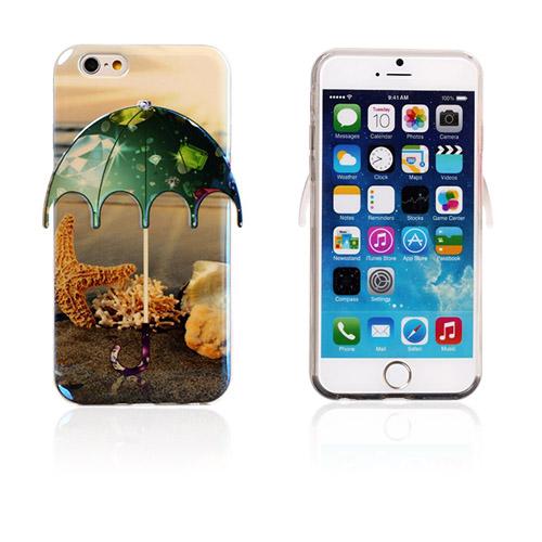 Image of   3D Paraply (Søstjerne og Diamanter) iPhone 6 Cover