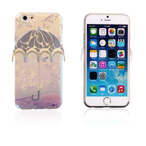 Image of   3D Paraply (Snefnug og gråt mønster) iPhone 6 Cover
