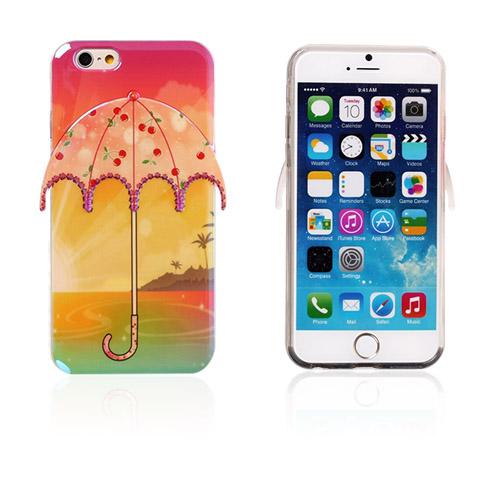 Image of   3D Paraply (Hav og Kirsebær) iPhone 6 Cover