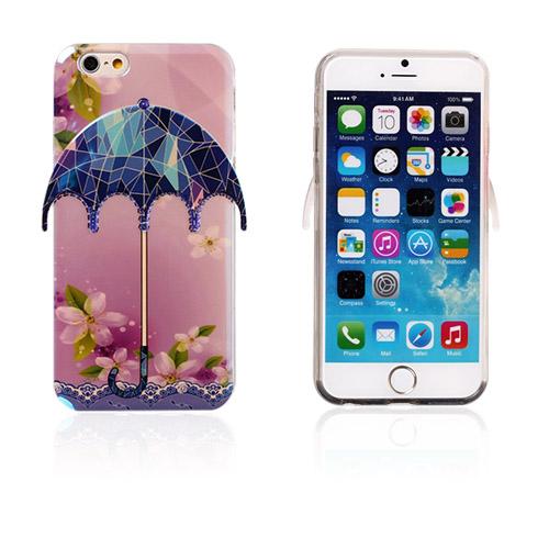 Image of   3D Paraply (Blomster og briller) iPhone 6 Cover