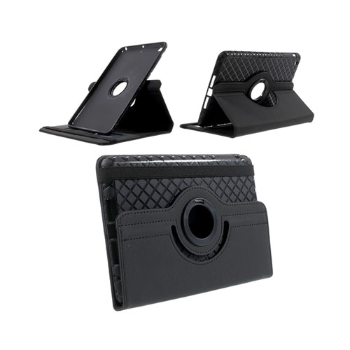 Jessen (Sort) iPad Mini 2 / Mini 3 Læder Roterende Etui
