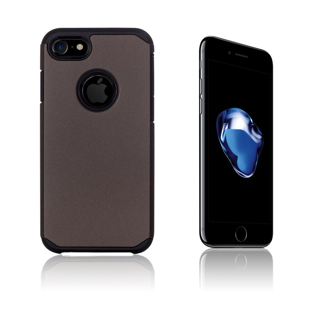Image of Hårderåde Fleksibelt Cover til iPhone 7   8 - Brun 78329ef277a8c