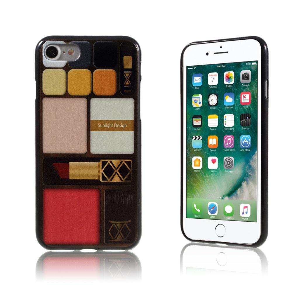 Image of   Westergaard Fleksibelt Cover til iPhone 7 / 8 - Makeup