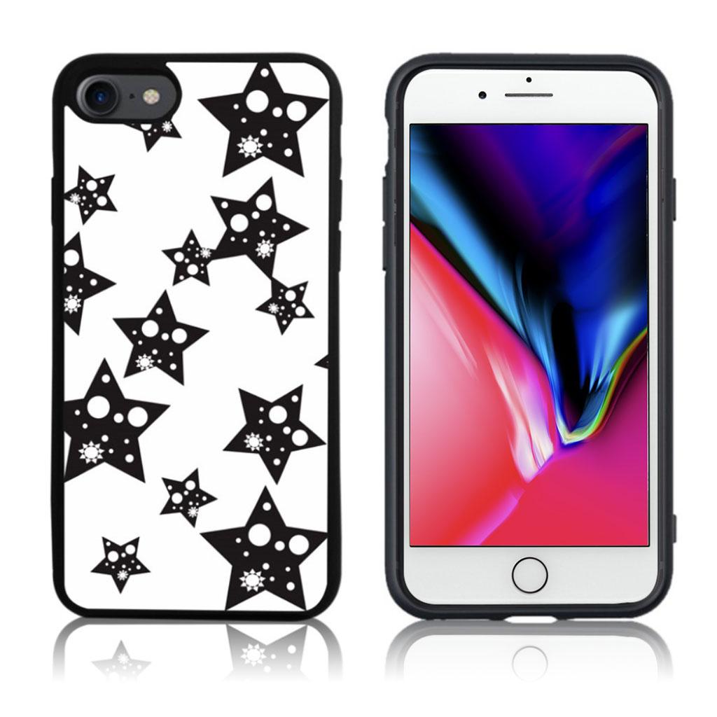 iPhone 7 / 8 Cover med 3D motiv - Stjerner