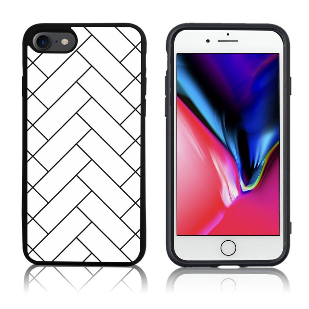 iPhone 7 / 8 Cover med 3D motiv - Vævet mønster