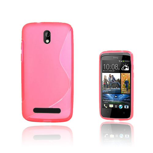 S-Line (Pink) HTC Desire 500 Cover