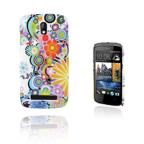 Image of   Valentine (Flower Power) HTC Desire 500 Cover