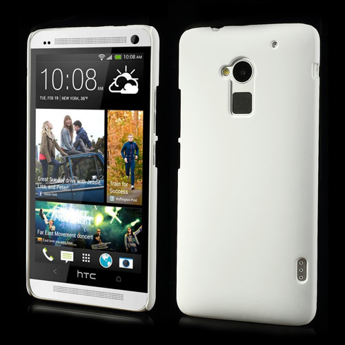 Hard Shell (Hvid) HTC One Max Cover