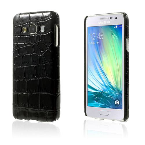 Image of   Acutus Samsung Galaxy A3 Lædercover - Sort