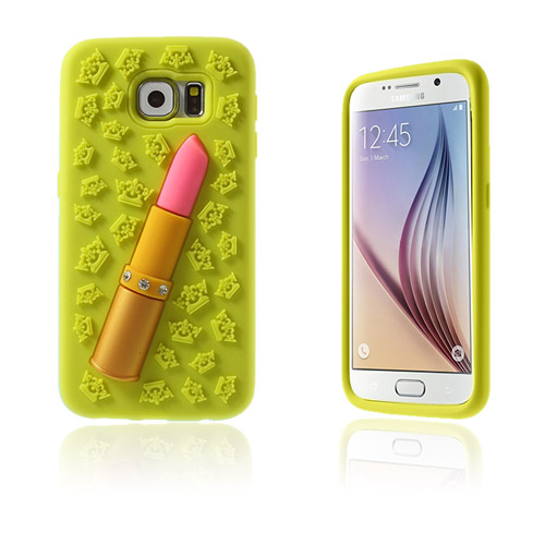 Image of   3D Samsung Galaxy S6 Cover - Gul