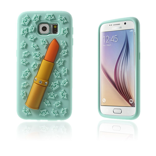 Image of   3D Samsung Galaxy S6 Cover - Lyseblå