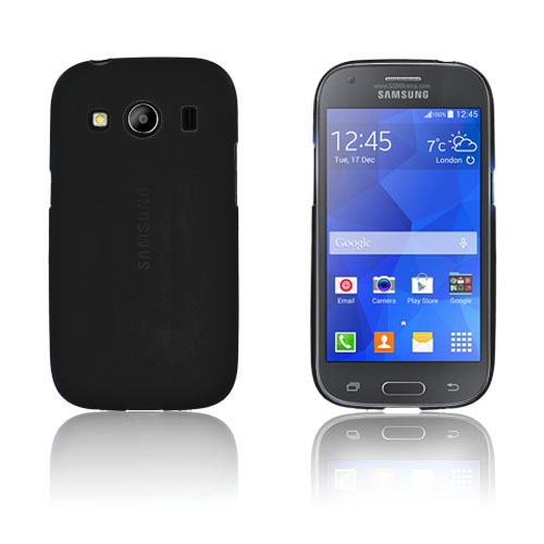 Wulff TPU Cover Til Samsung Galaxy Ace 4 - Sort