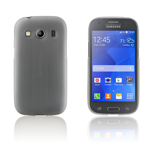 Wulff TPU Cover Til Samsung Galaxy Ace 4 - Hvid