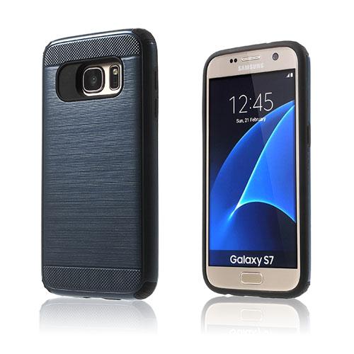 Image of   Absalon hybrid cover til Samsung Galaxy S7 - Mørkeblå