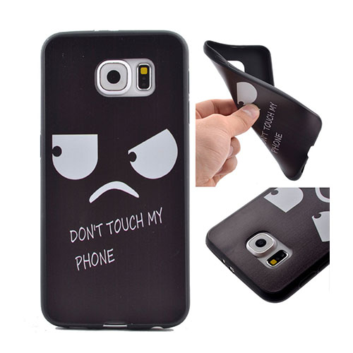 Image of   Lundbye cover til Samsung Galaxy S7 - Ikke rør min telefon!