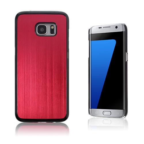 Holt combo-cover til Samsung Galaxy S7 Edge - Rød