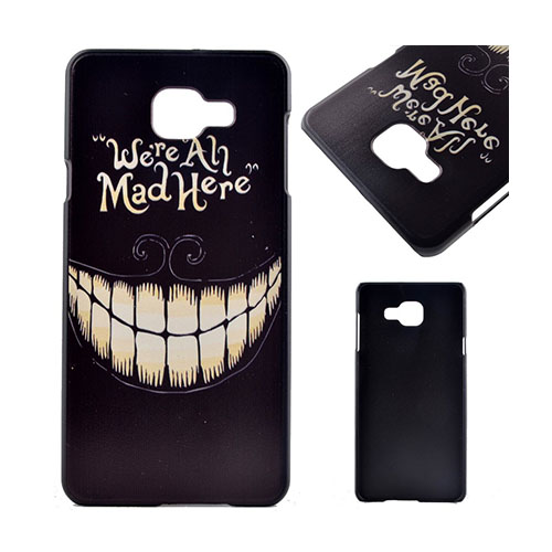 Image of   Persson relief cover til Samsung Galaxy A5 (2016) - We are all mad