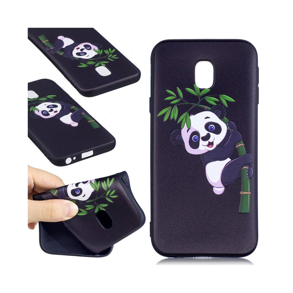 Image of   Samsung Galaxy J3 (2017) Blødt beskyttelses cover - Panda