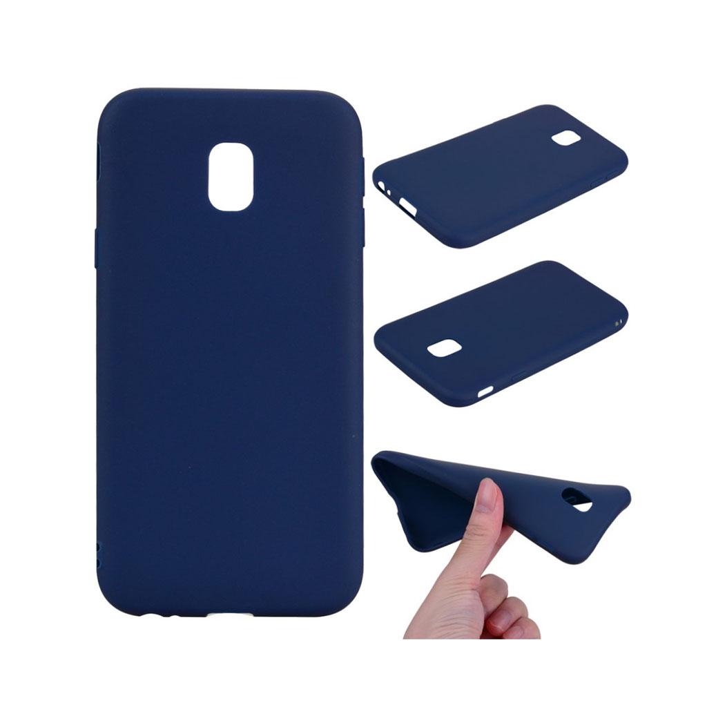 Image of   Samsung Galaxy J3 (2017) Lækkert blødt materiale - Mørkeblå