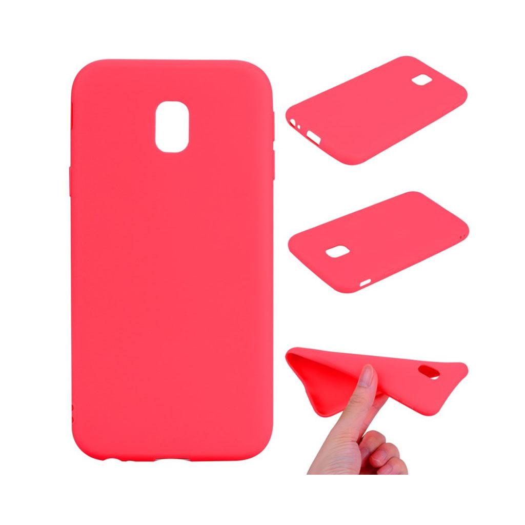 Image of   Samsung Galaxy J3 (2017) Lækkert blødt materiale - Rød