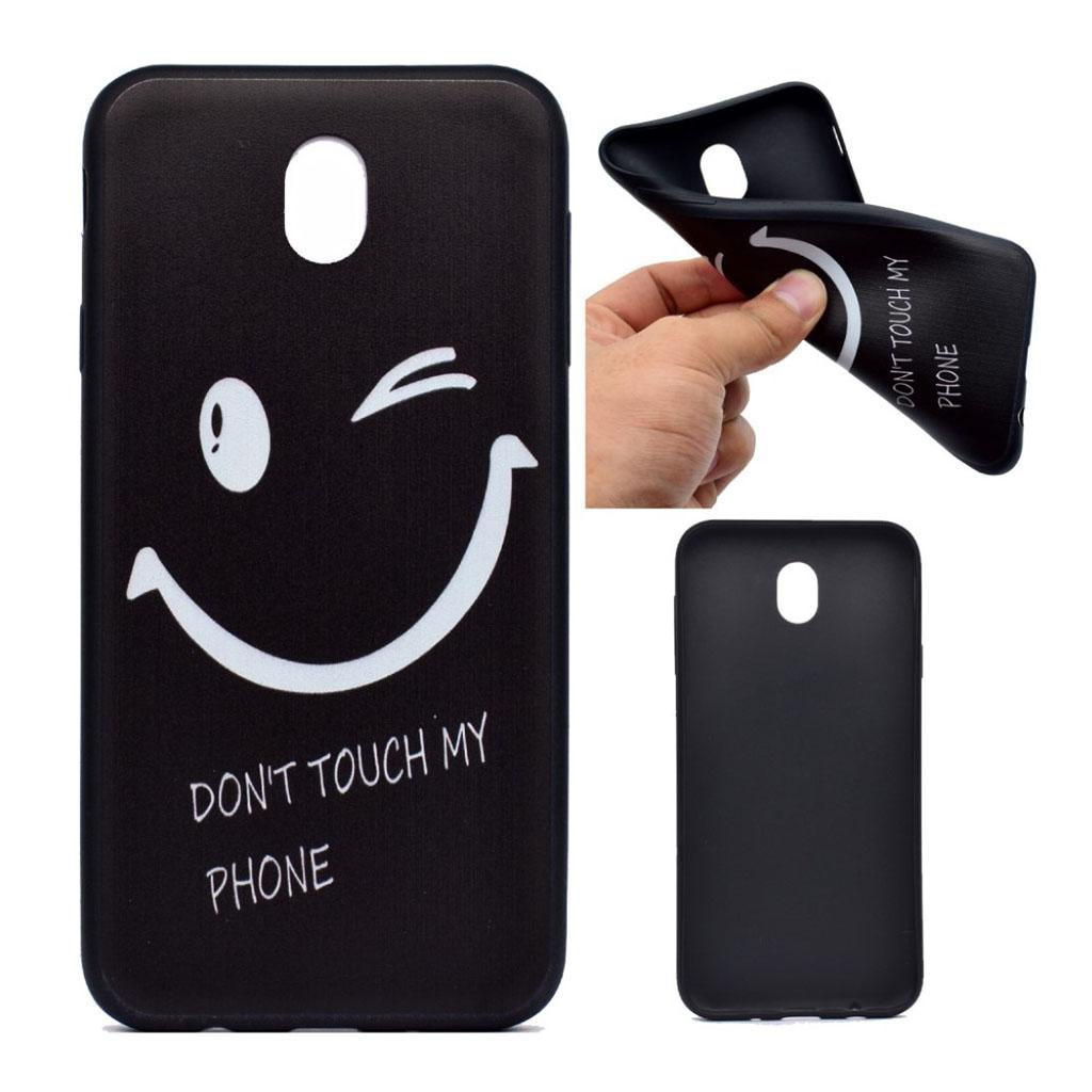 Image of   Samsung Galaxy J3 (2017) Blødt silikone cover - Smil