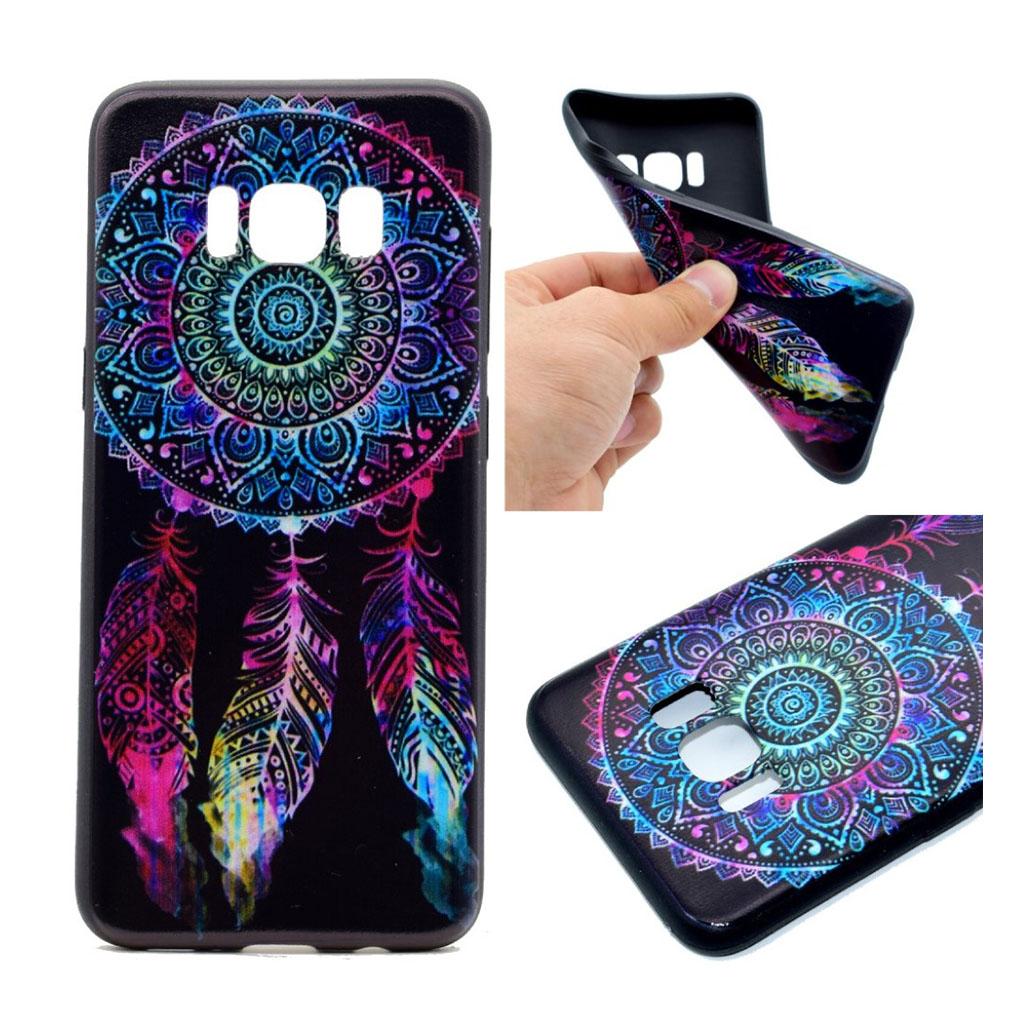 Samsung Galaxy S8 Beskyttende silikonecover - Tribal drømmefanger