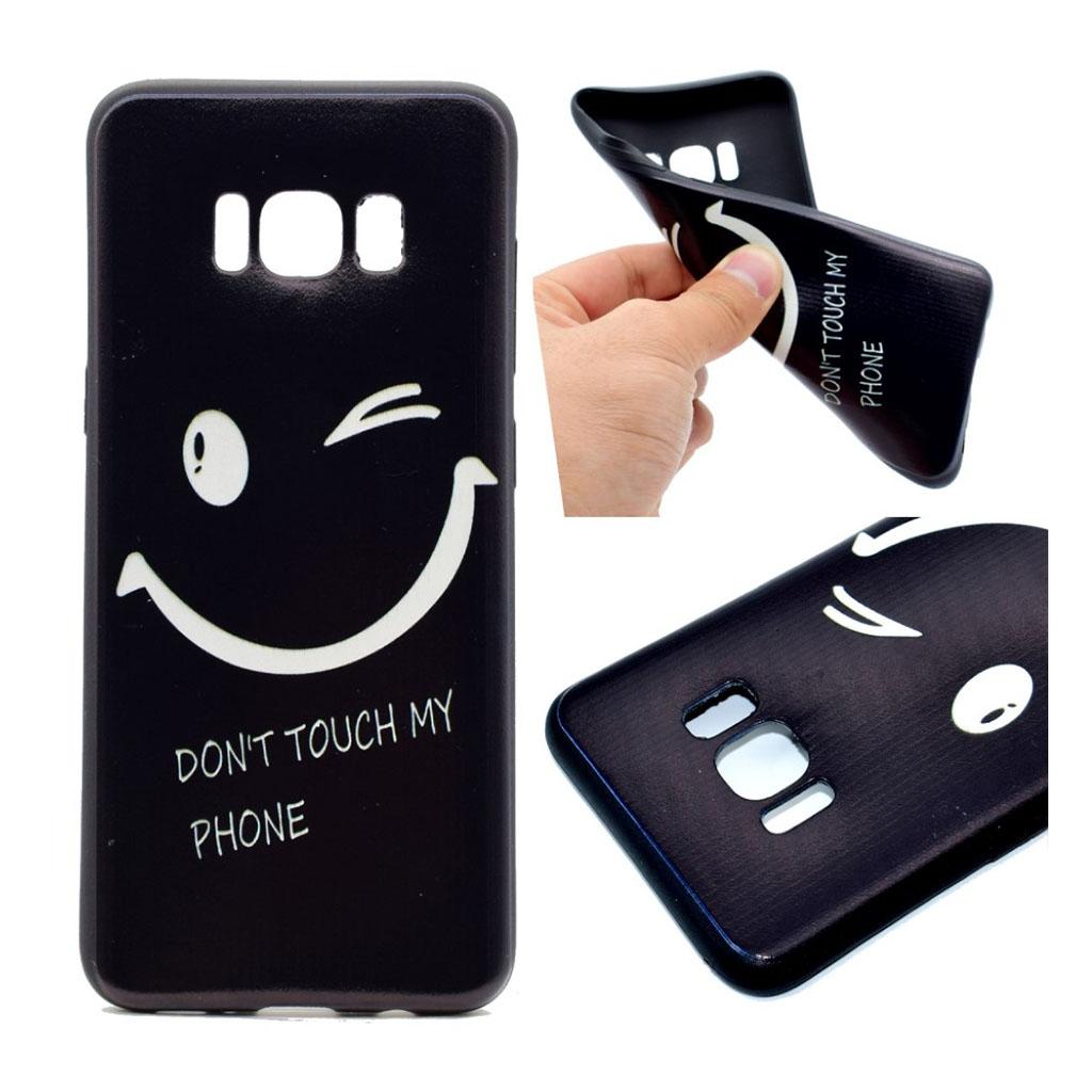 Samsung Galaxy S8 Beskyttende silikonecover - Engelsk citat