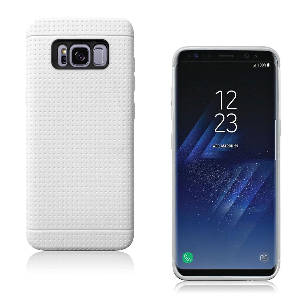 Samsung Galaxy S8 smart og holdbart silikonecover - Hvid