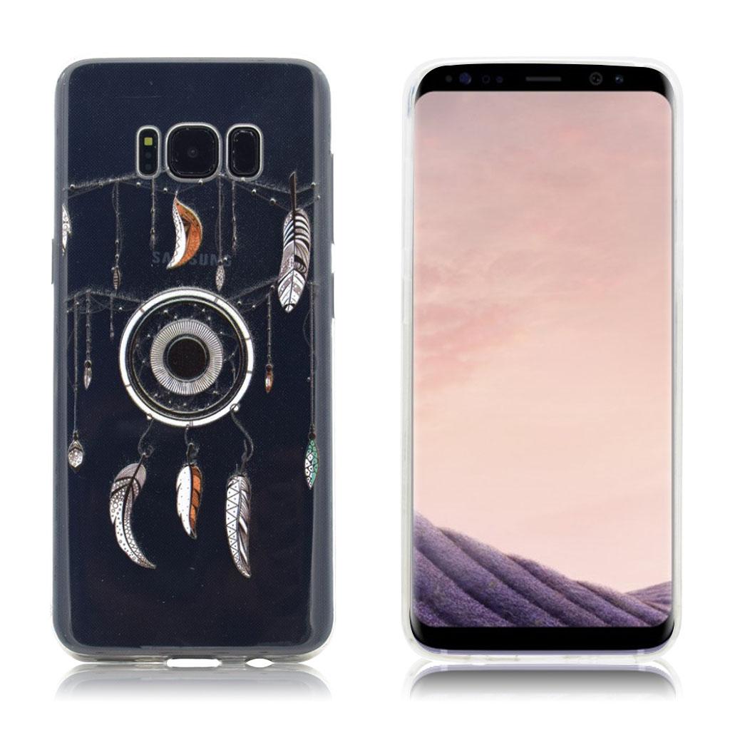 Samsung Galaxy S8 Silikone cover - Drømmefanger