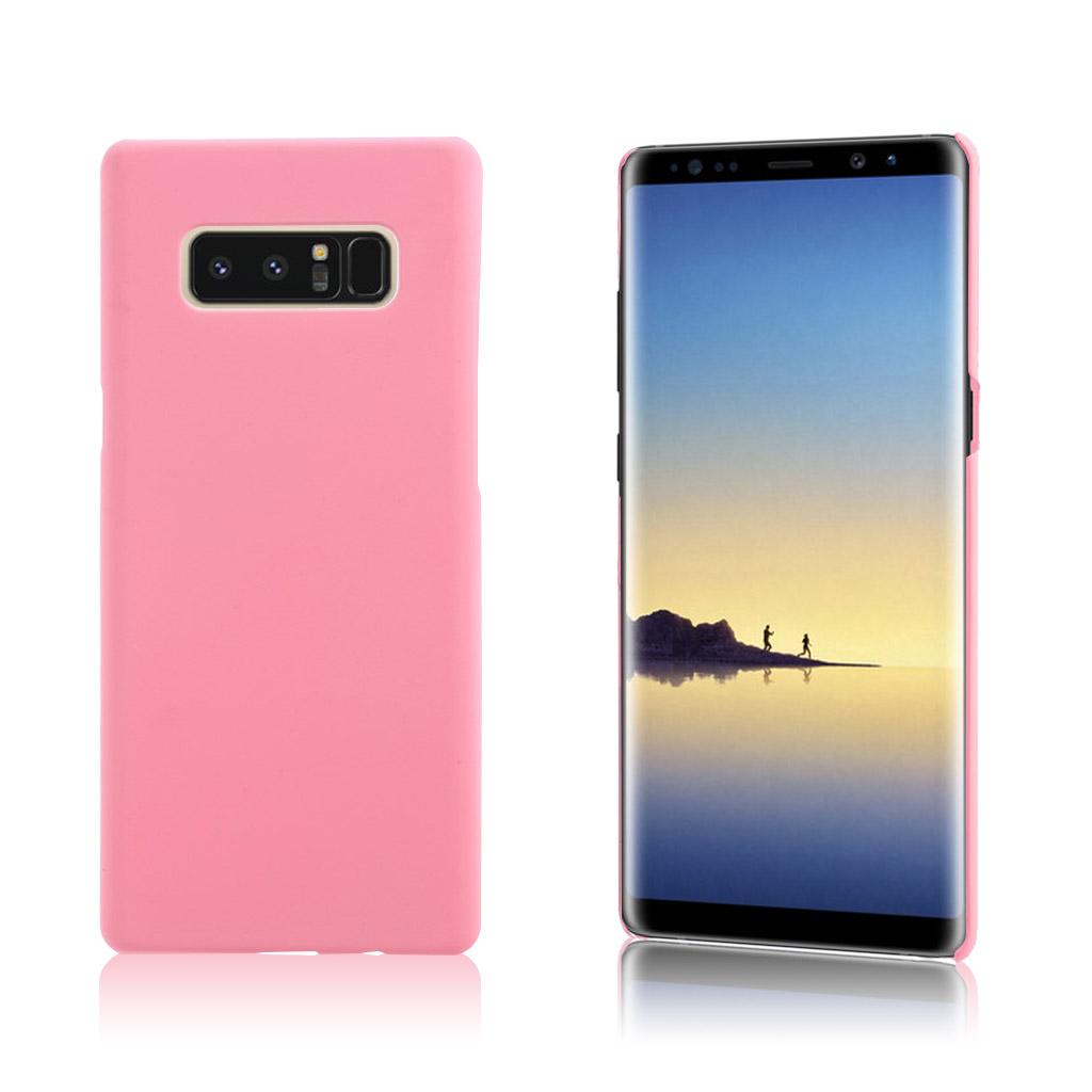Samsung Galaxy Note 8 Slank og let plastik cover - Lyserød