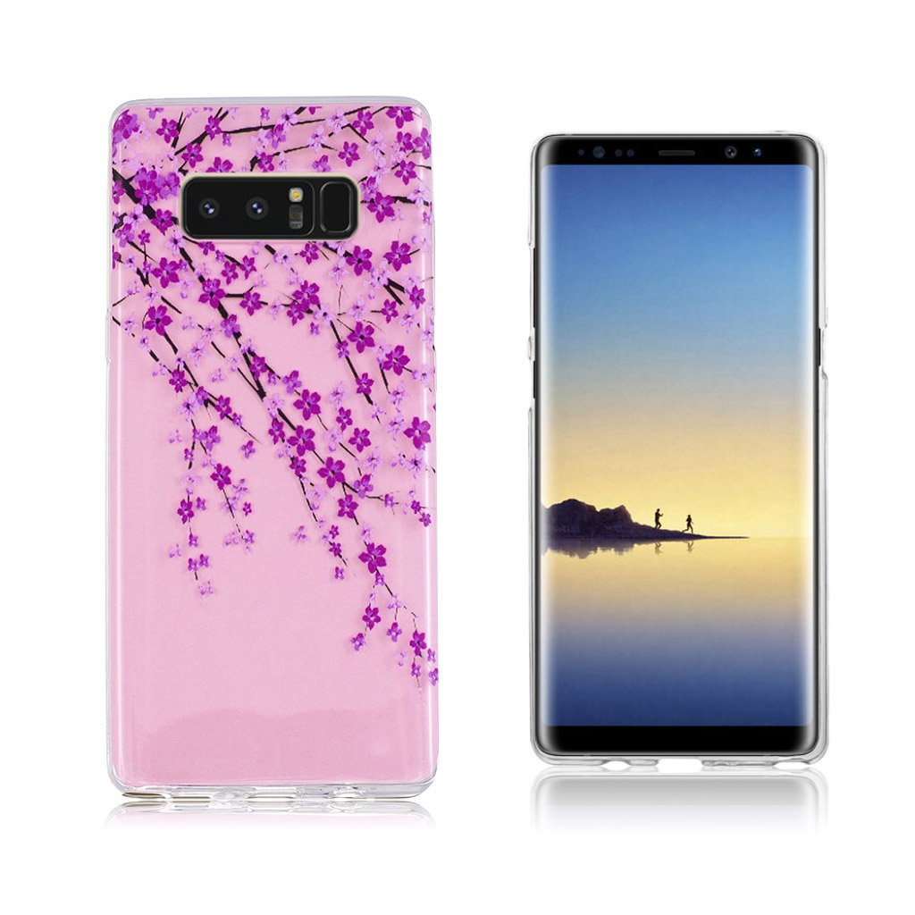 Samsung Galaxy Note 8 Ultra tyndt robust cover - Blomstrende blomster