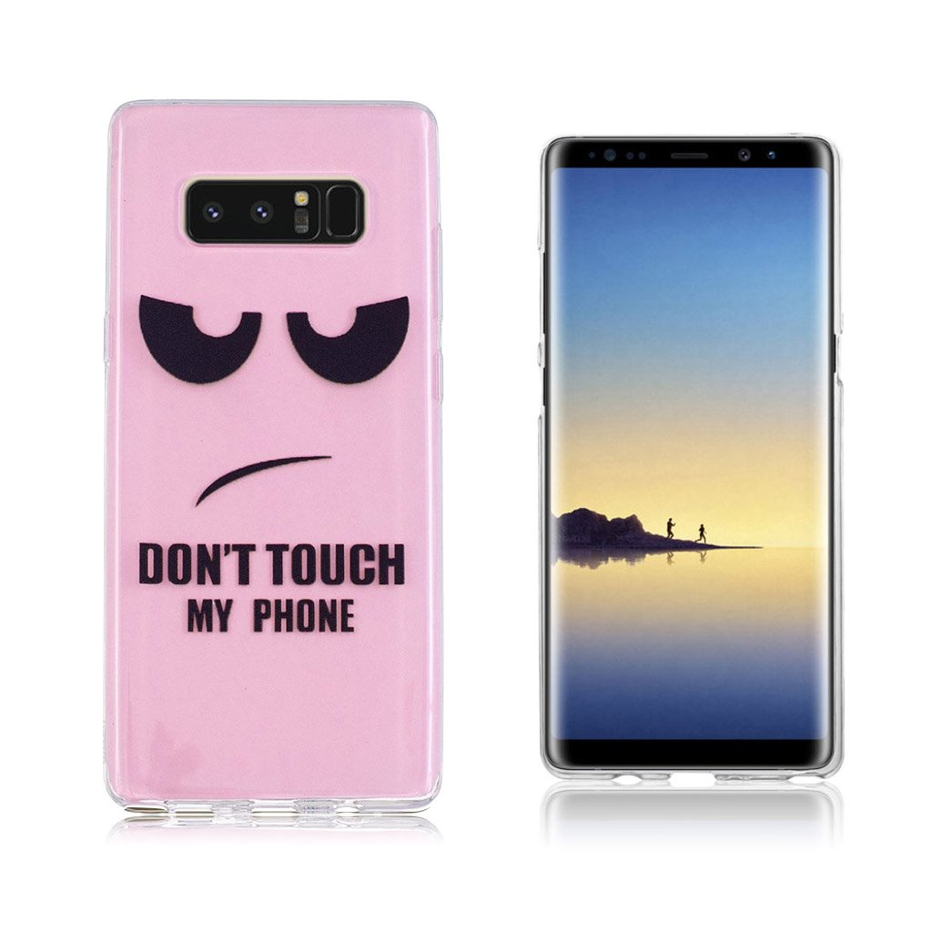 Samsung Galaxy Note 8 Ultra tyndt robust cover - Advarsel
