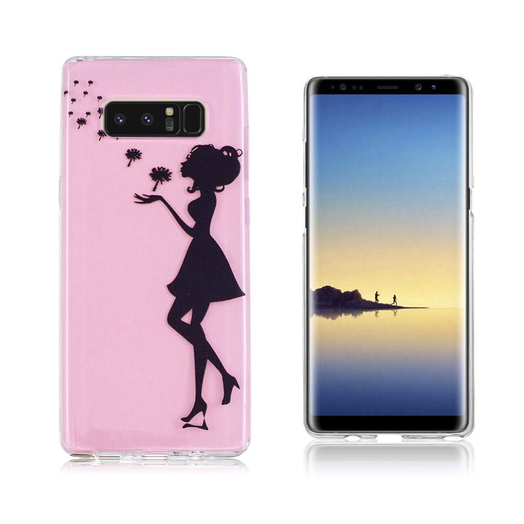 Samsung Galaxy Note 8 Ultra tyndt robust cover - Mælebætte damen