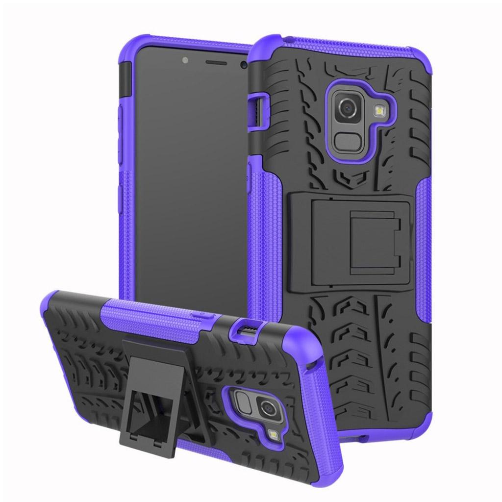 Samsung Galaxy A8 (2018) anti-slip TPU case - Purple