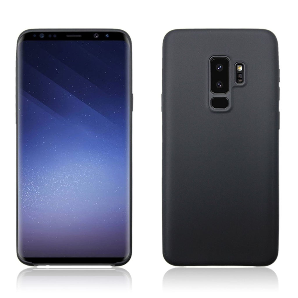 Samsung Galaxy S9 Plus matte soft case - Black