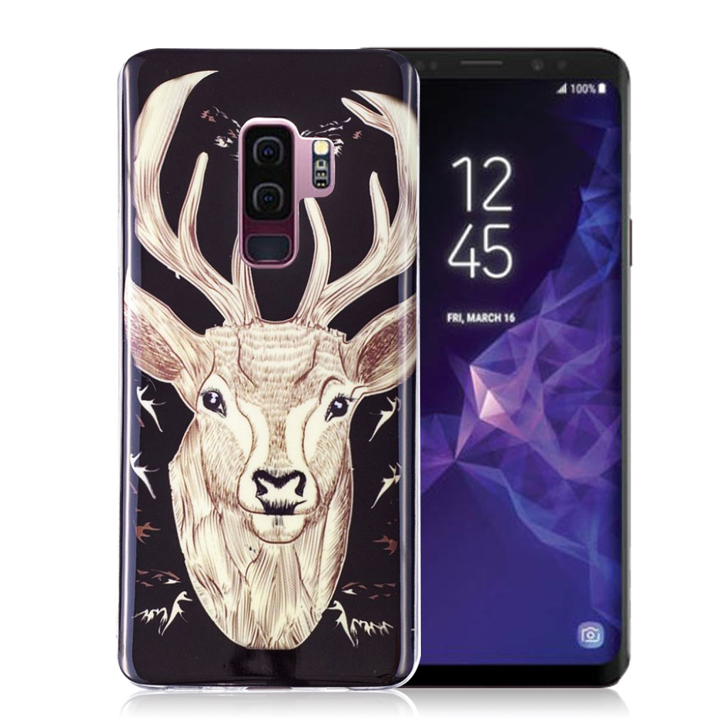IMD Samsung Galaxy S9 Plus patterned case - Elk