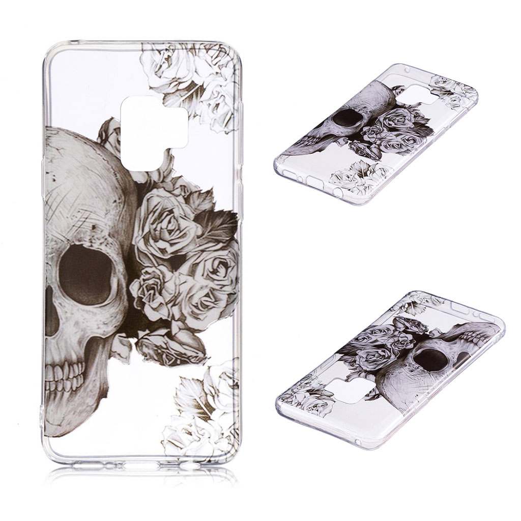 IMD Samsung Galaxy S9 Plus patterned case - Cool Skull
