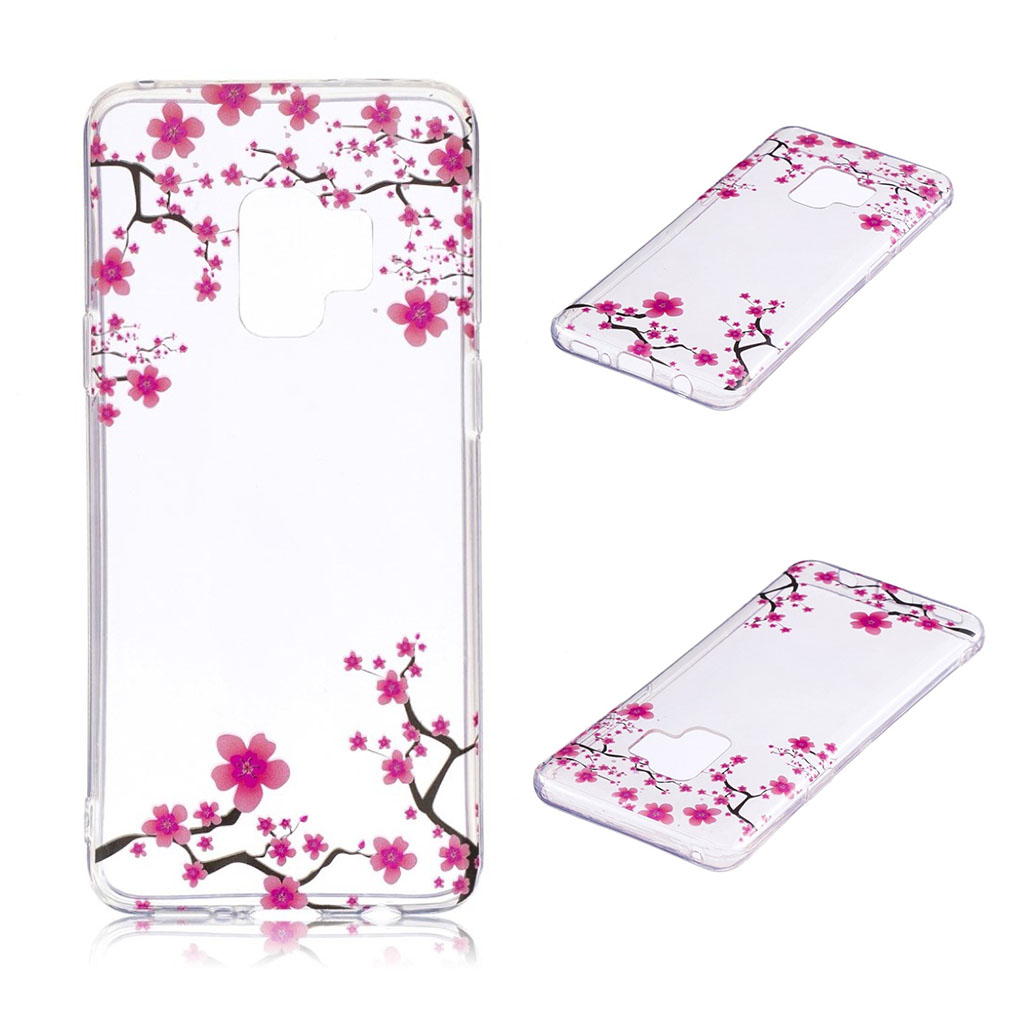 IMD Samsung Galaxy S9 Plus patterned case - Plum Blossom