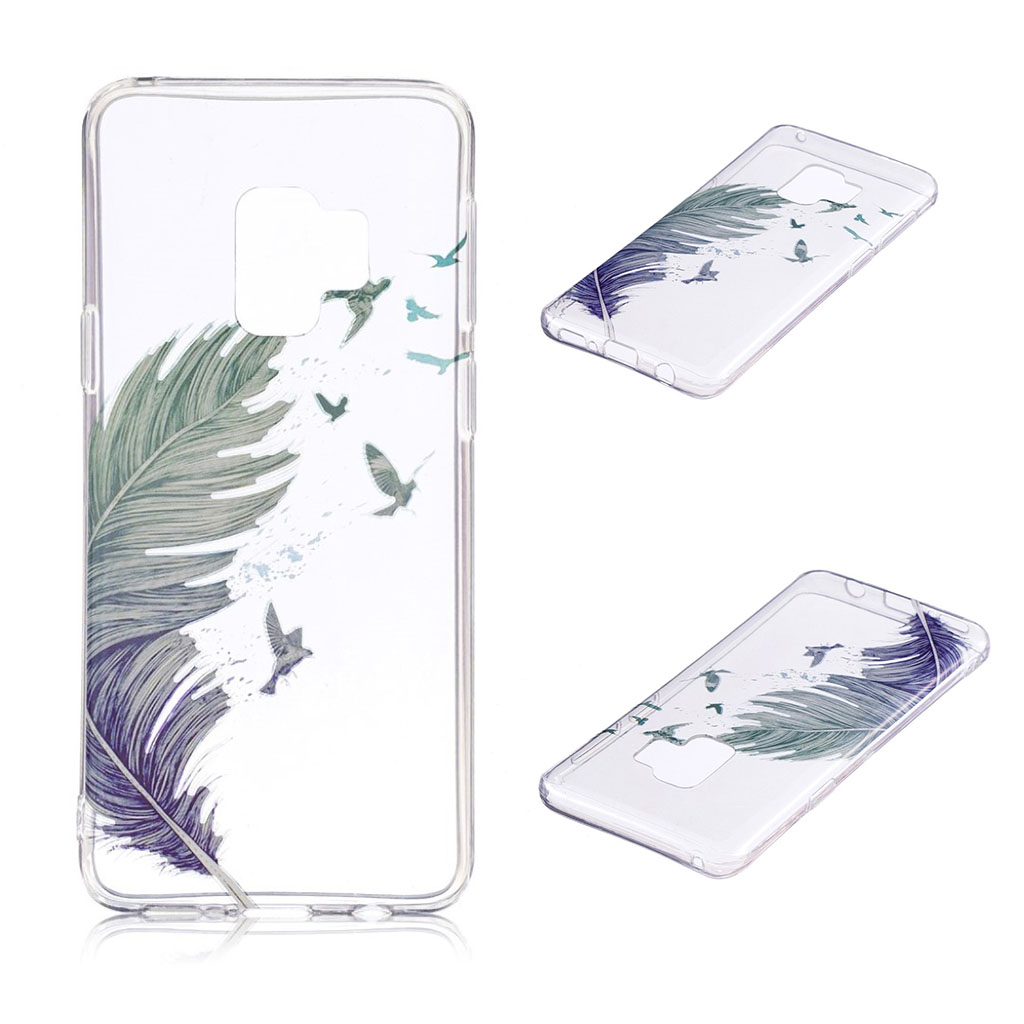 IMD Samsung Galaxy S9 Plus patterned case - Feather Pattern