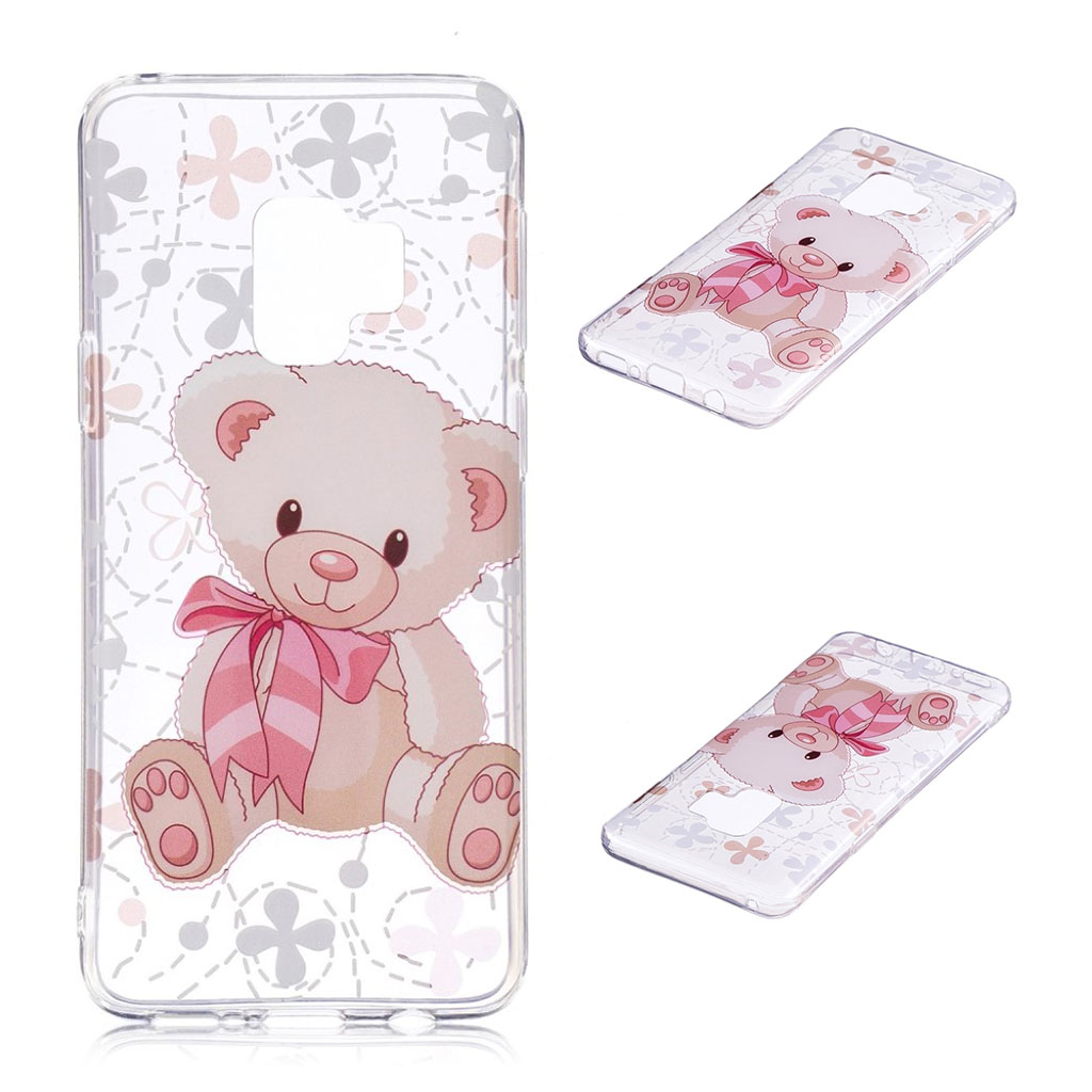 IMD Samsung Galaxy S9 Plus patterned case - Adorable Bear
