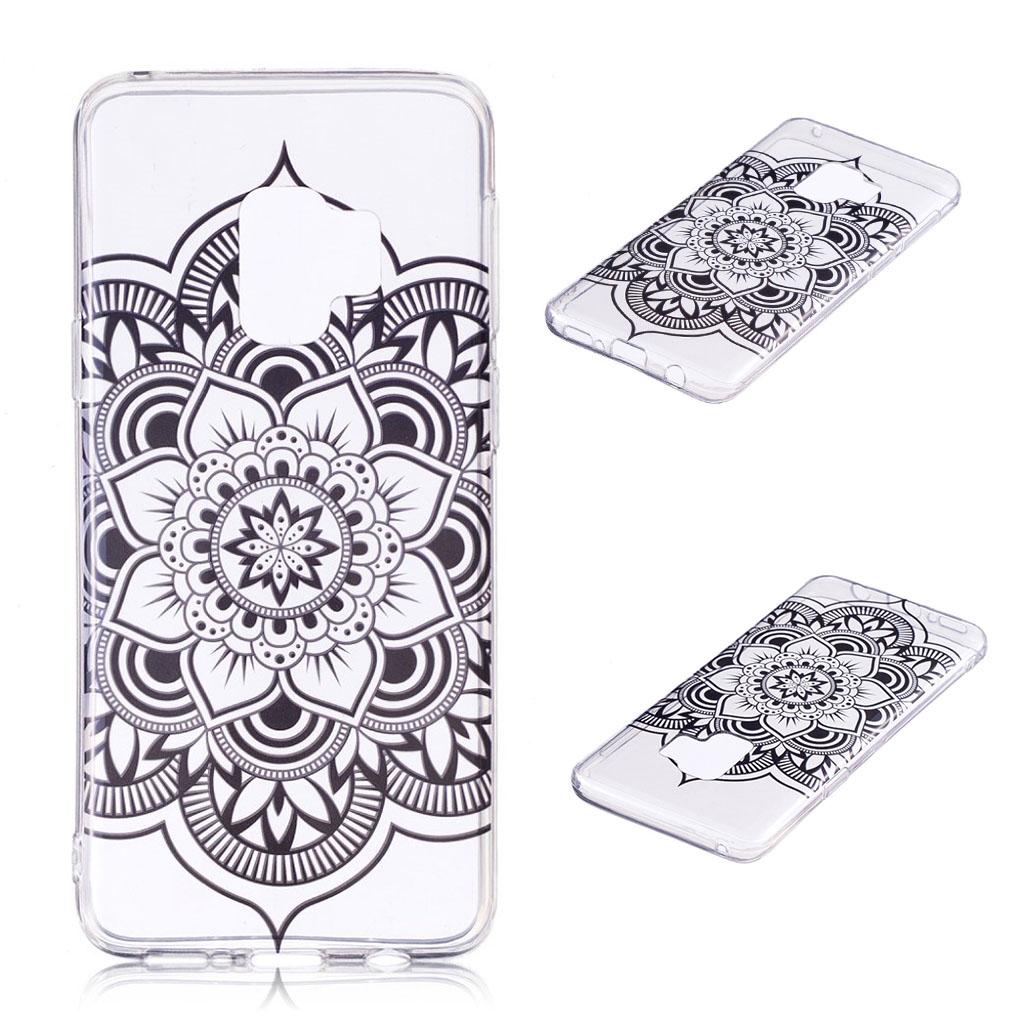 Samsung Galaxy S9 Plus patterned IMD soft TPU case - Flower Pattern