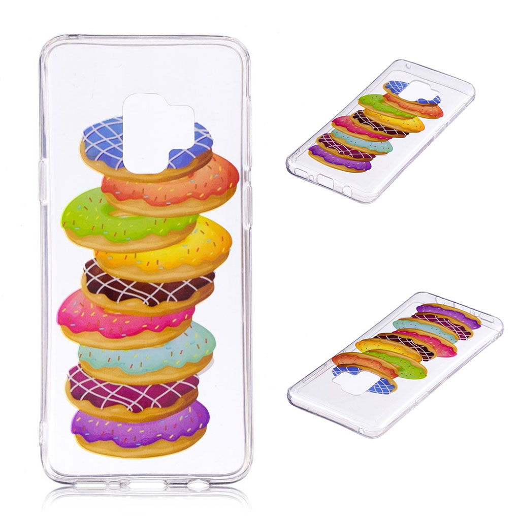 Samsung Galaxy S9 Plus patterned IMD soft TPU case - Delicious Doughnut