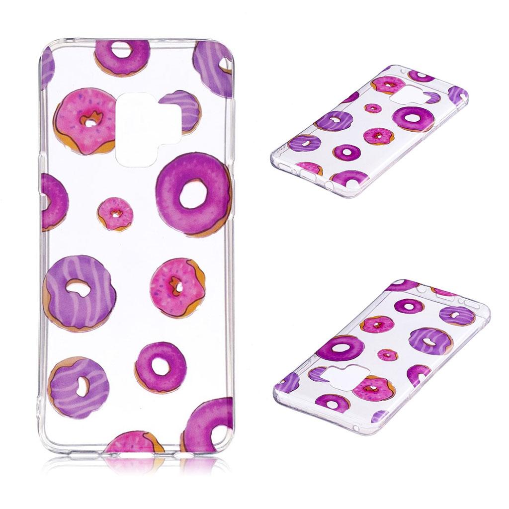 Samsung Galaxy S9 Plus patterned IMD soft TPU case - Doughnut Pattern