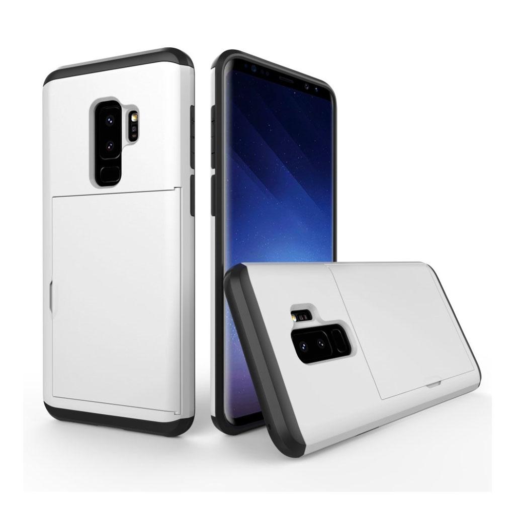 Samsung Galaxy S9 Plus hybrid TPU etui - hvid
