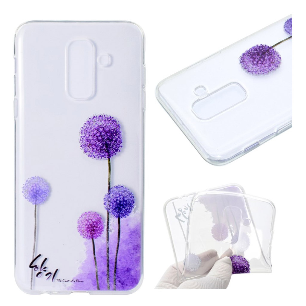 Samsung Galaxy A6 Plus pattern printing soft case - Dandelion